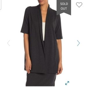 NEW Eileen Fisher Open Front Cardigan